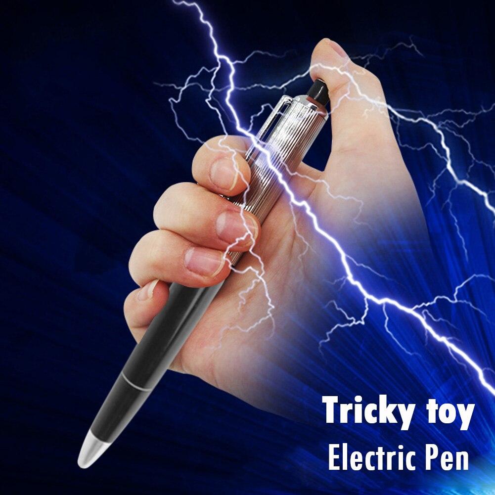¡Novedad de 2020! Bolígrafo eléctrico de juguete, aparato de broma de utilidad, broma y truco divertidos, el mejor regalo para amigos, envío gratis