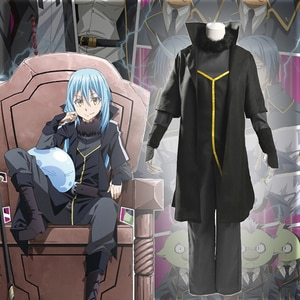 Anime Comic That Time I Got Reincarnated as a Slime Cosplay costumes Rimuru Tempest Cosplay Costume Uniforms Suits Clothes hot