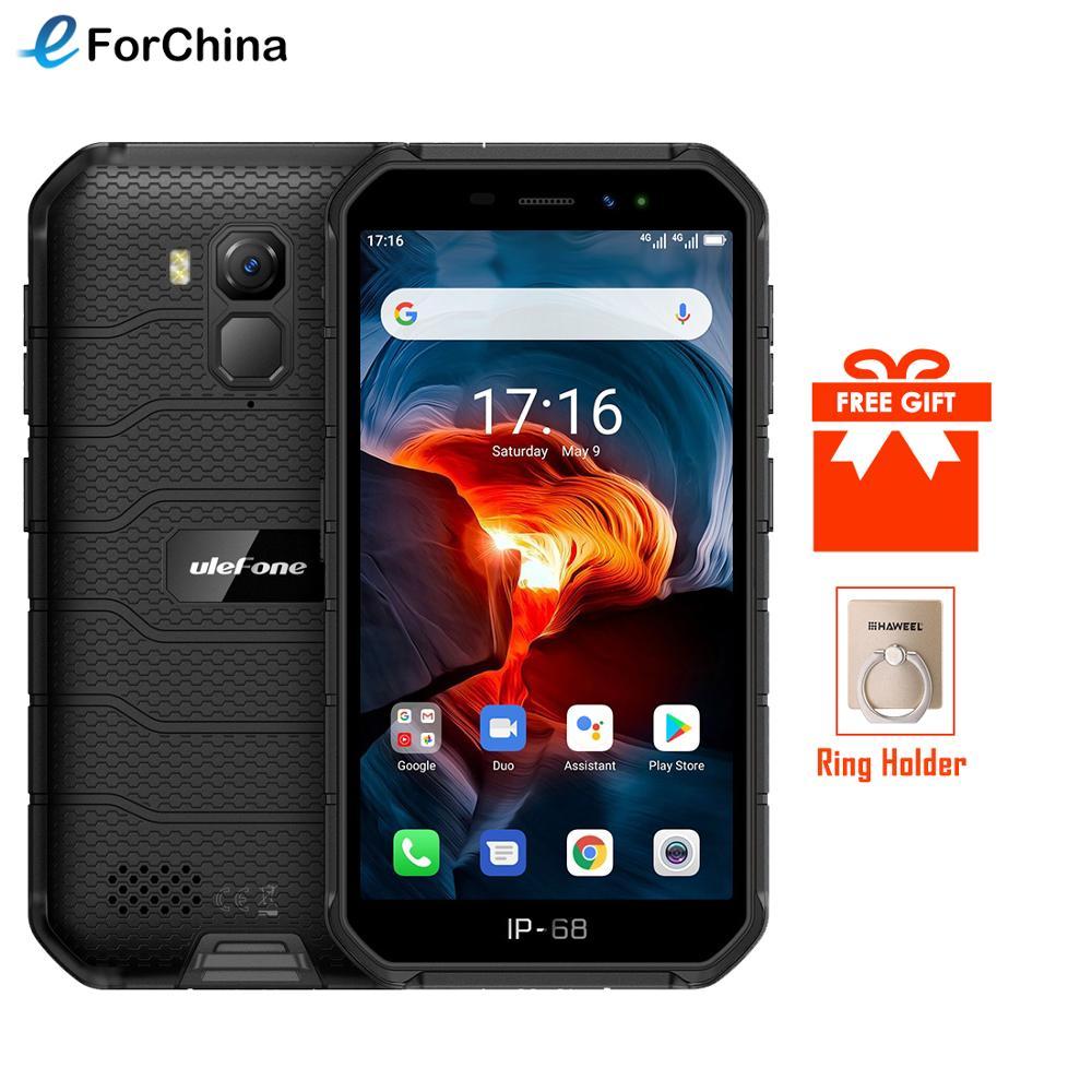 Перейти на Алиэкспресс и купить Ulefone Power X7 Pro NFC Android 10 IP69K ударопрочные мобильные телефоны, 4 Гб оперативной памяти, 32 Гб встроенной памяти, GPS мобильного телефона 4000mAh смартфон...