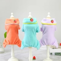 s 2xl new autumn winter cute vertical yarn warm dog clothes puppy outfit pet cat coat fashion clothing for small dogs