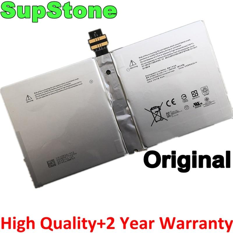 SupStone-بطارية كمبيوتر محمول ، أصلي ، 1724 بوصة ، باور r01 G3HTA027H ، لجهاز Microsoft Surface Pro 4 12.3 ، G3HTA026H