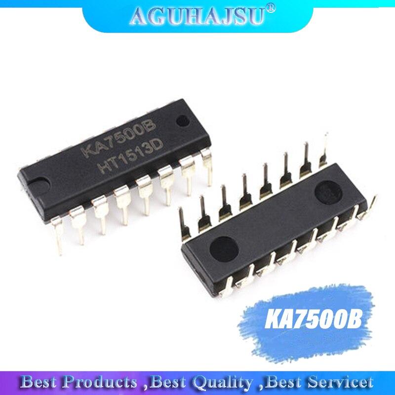 10 Uds KA7500B DIP16 KA7500 DIP 7500b DIP-16 nuevos PWM interruptor controlador de alimentación de chip