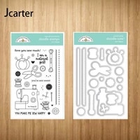new scissors sewing machine thread metal cutting dies and clear stamps craft stencil scrapbook album paper make template decor