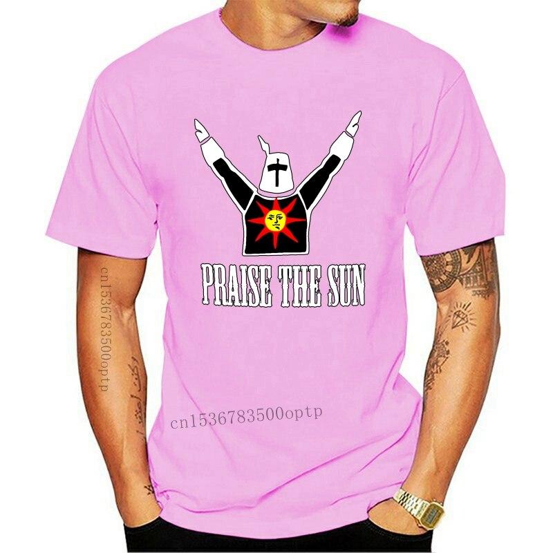Lob Der Sonne Herren T Shirt Dark Sunbro Solaire Seelen Gwyn Sonnen Ritter Bro T Shirts Kurzarm Top Tee Kleid T-Shirts    -