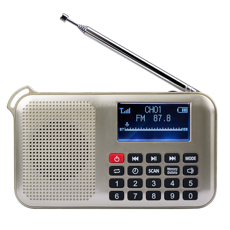 Mini Solar Power Lautsprecher Mp3 Audio Musik-Player mit Led Notfall Licht