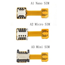Hybrid Double Dual Sim Card Adapter Micro SD Nano Sim Extension Adapter For Xiaomi/Redmi For Samsung