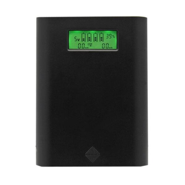 SoShine-بطارية E3S 4x18650 مع شاشة LCD ، شاحن بطارية لجهاز iPhone ، Samsung ، USB ، ملحقات إضاءة محمولة