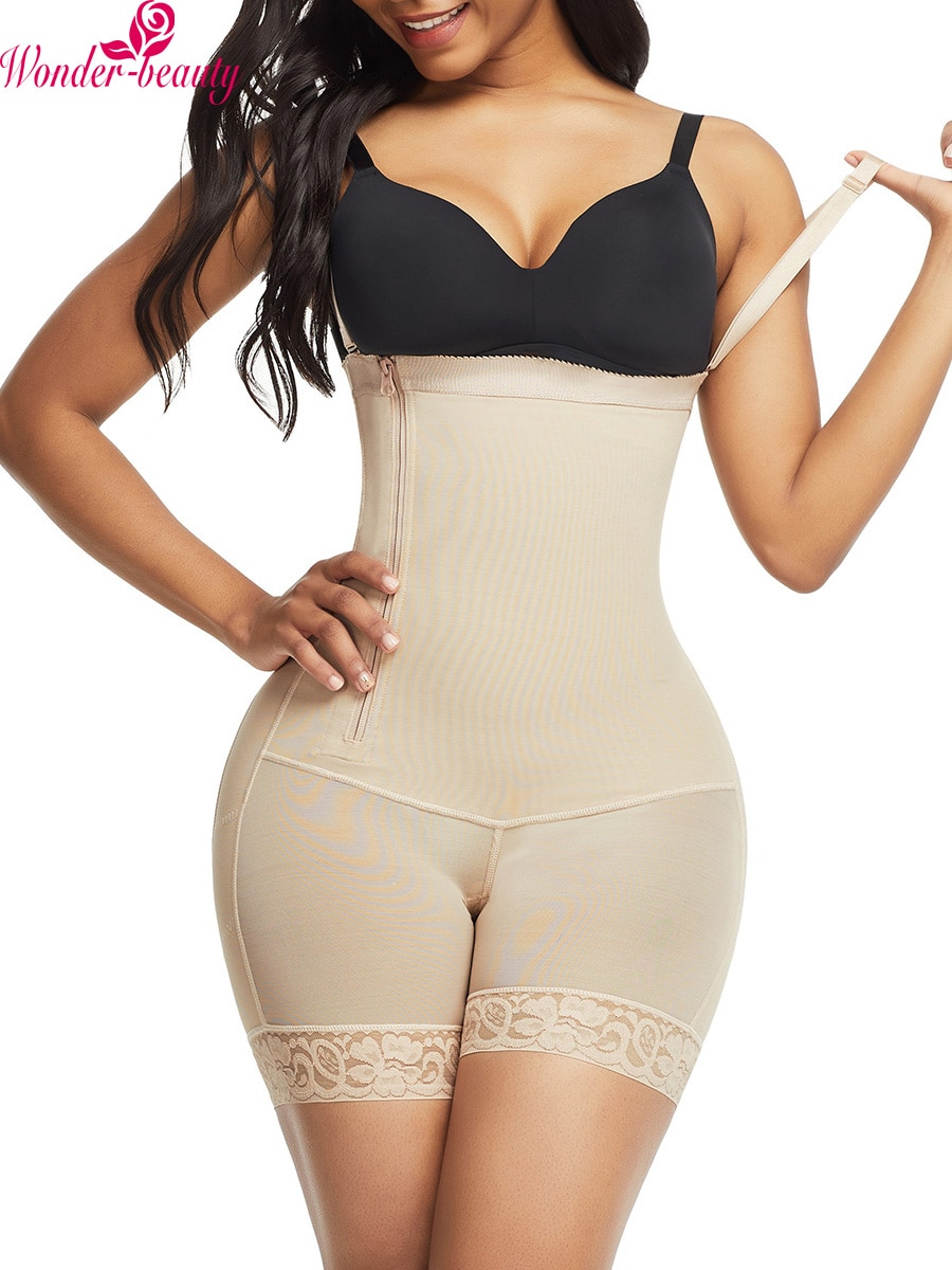 WonderBeauty, corsé modelador de cintura para mujer, corsé de encaje para Control de barriga, Control de talla grande, entrenador de cintura, ropa interior moldeadora de cuerpo