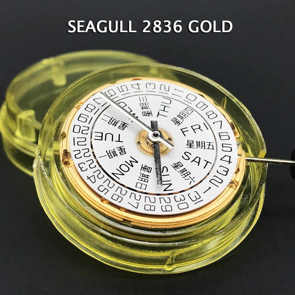 Top Seagull 2836-2 Mechanical Watch Movement Self-winding Movt ETA 2836 Clone Brand Watch Parts Replacements enlarge