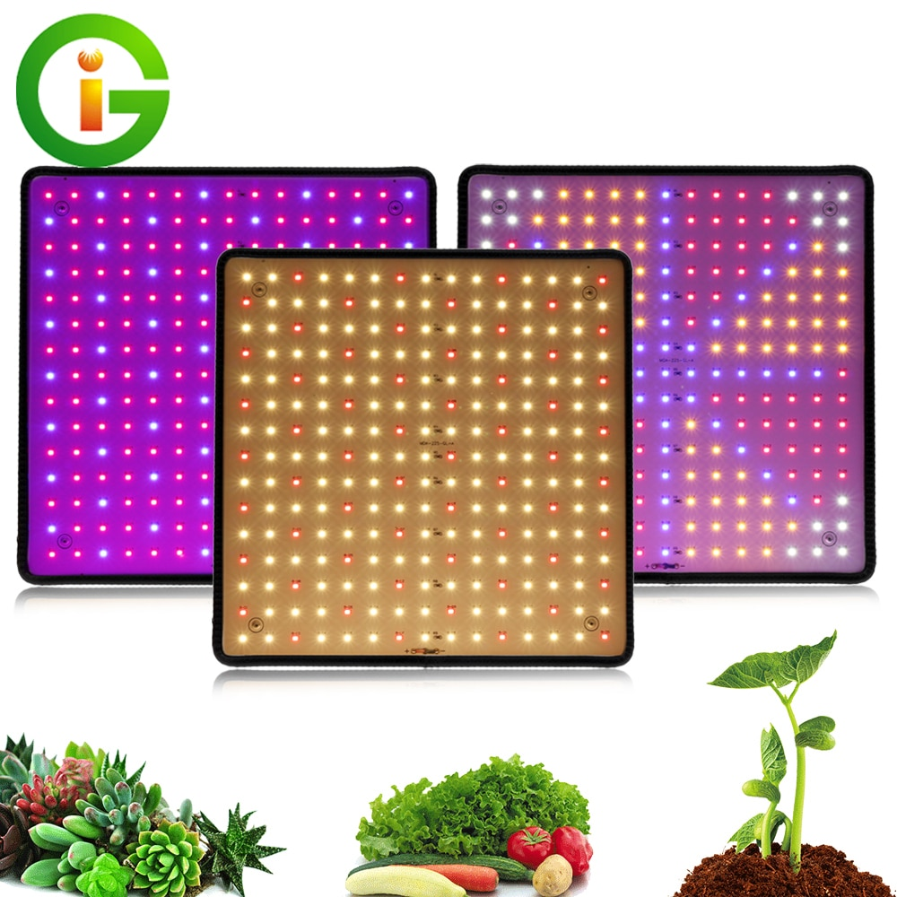 1000W LED Grow Light Panel Full Spectrum Phyto Lamp AC85-240V EU/US Plug For Indoor Grow Tent Plants Growth Light