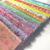 diy glitter a4 size vinyl for bows glitter leather fabric faux leather sheets for bows earringshairclips