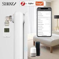 Support de Thermostat TUYA ZIGBEE  Alexa  Google Home  chauffage precis  vanne de radiateur thermostatique TRV  controleur de temperature