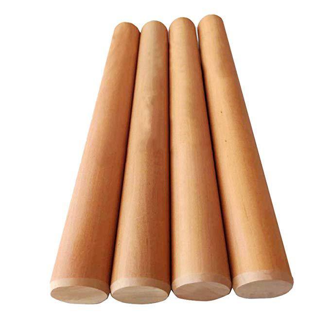 "HiMISS pera rodillo de madera 26 ""Extra Largo antiadherente herramienta de horneado para el hogar"