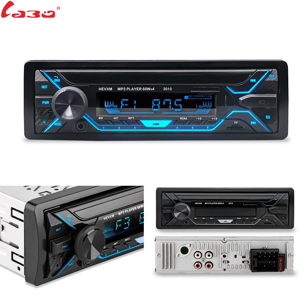 LaBo-راديو السيارة مع بلوتوث ، مستقبل إدخال Aux ، دعم مشغل MP3 ، FM ، MP3 ، WMA ، USB ، SD