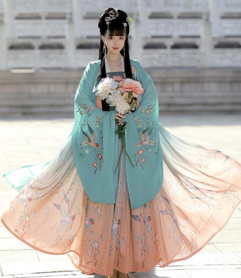 Hanfu vestido chinês cosplay hanfu feminino vestido chinês tang terno traje antiga fada princesa traje tradicional hanfu vestido
