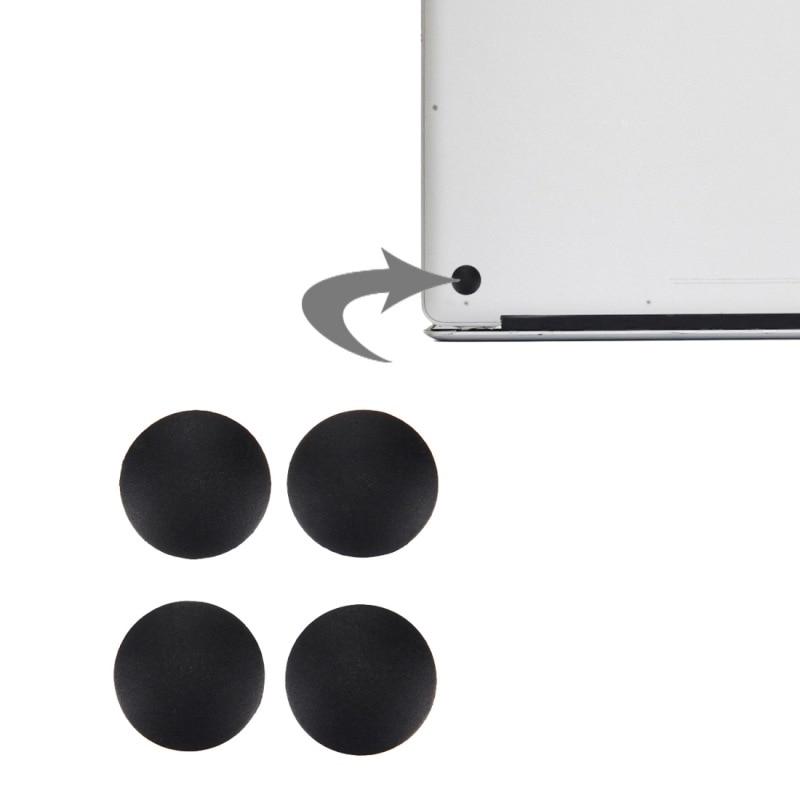 4Pcs/set Laptop Rubber Bottom Case Cover Feet Kit Back Case Mat Feet Base for Macbook Pro A1278 A1286 A1297 Laptop Accessories