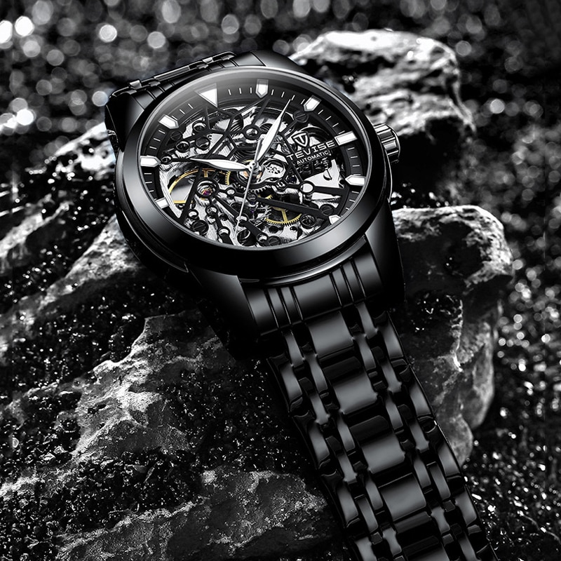 TEVISE Automatic Watch Men Top Brand Luxury Men's Mechanical Watches Fashion Business Relojes Waterp
