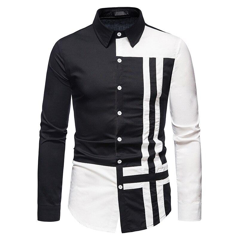Мужские рубашки, новые европейские мужские рубашки, рубашки с длинным рукавом, мужские рубашки, модные рубашки,