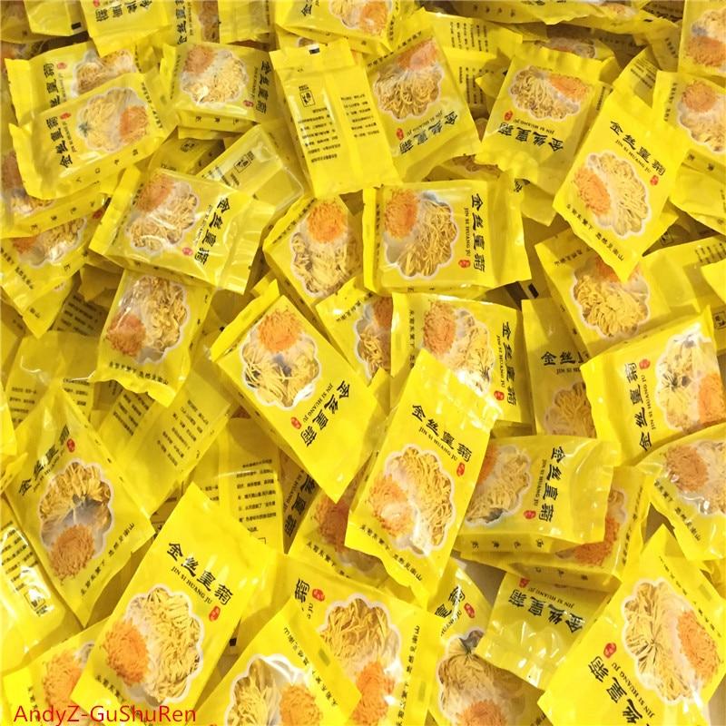 ¡Novedad de 2020! Alambre dorado de crisantemo, fresco, Natural, orgánico, té chino de crisantemo, cuerpo de aromaterapia, té de flor Kung Fu, fruta