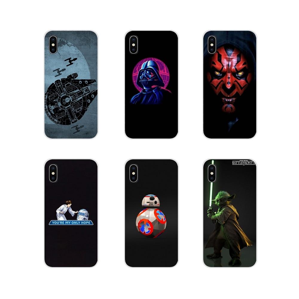 Para Huawei Honor 4C 5C 6X 7 7A 7C 8 9 10 8C 8S 8X 9X 10I 20 Lite Pro accesorios de la cáscara del teléfono cubre Star Wars