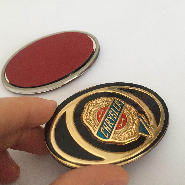 1 pçs abs chrysler 300c mopar grade dianteira grill bonnet emblema ouro dourado acrílico emblema veículo adesivo personalizado headstock logotipo