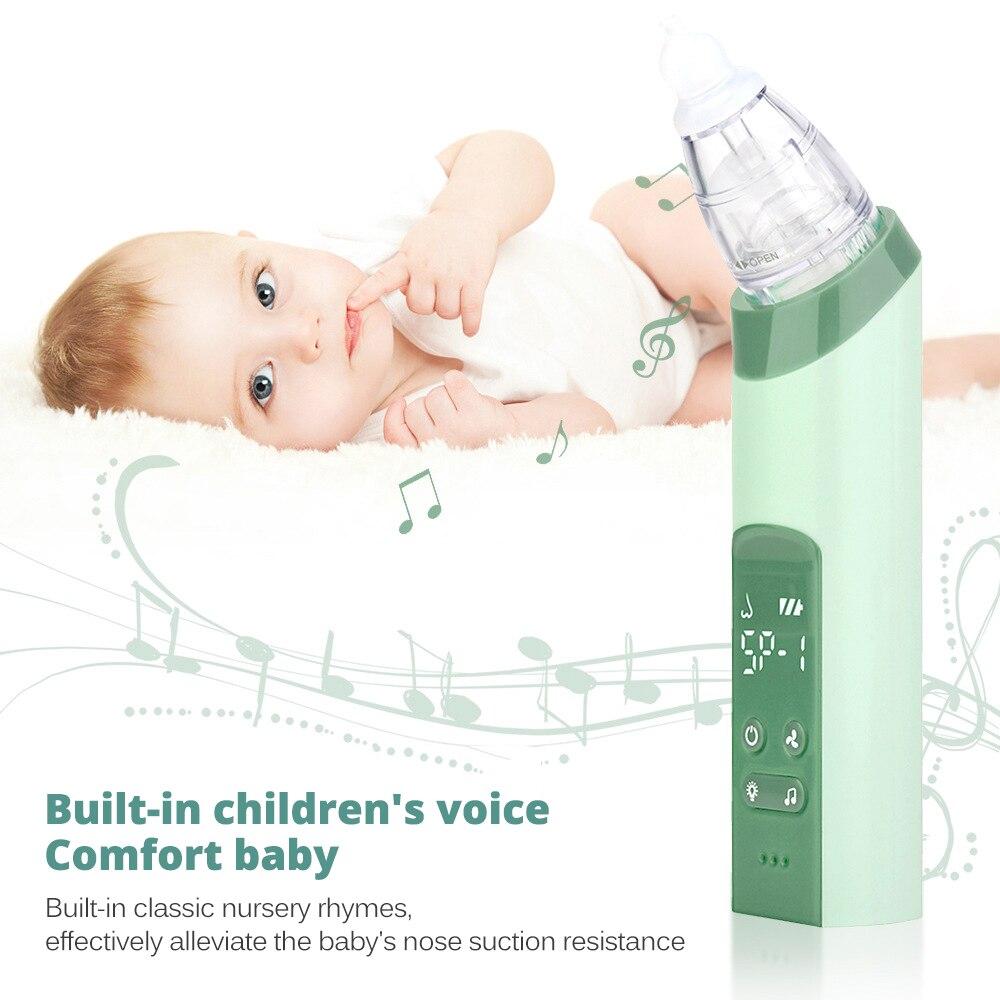 Baby Nasal Aspirator Adjustable suction Nose Cleaner Newborn infantil Safety Sanitation Nasal dischenge patency tool
