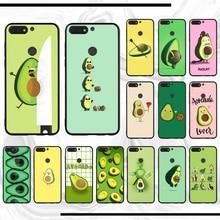 For honor 9 case Avocado aesthetic DIY Luxury Phone Case For honor Y6 8 8x 9 10 view lite prime 8c 6 10plus 20 2018