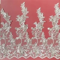 sequins lace trim striped flower wedding evening dress curtain decoration sewing cloth sewing accessories