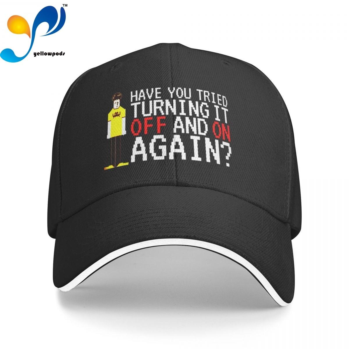 Толпа, вы попробовали отключить и включить кепку-тракер, Снэпбэк Кепка для мужчин, бейсбольный клапан, мужские шапки, кепки с логотипом