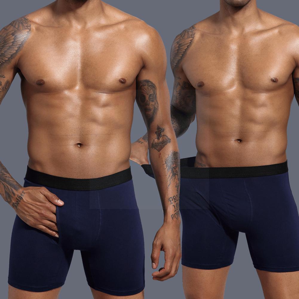 Мужское хлопковое нижнее белье, боксеры, мужские трусы, удобные дышащие трусы в багажнике, мужское нижнее белье, O7s9, мужские боксеры W7e6