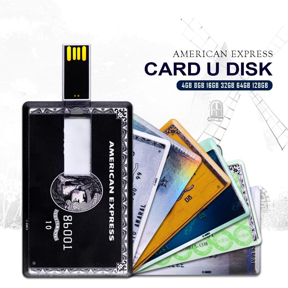 Cartão instantâneo da vara da memória do modelo do cartão de banco da movimentação 4 gb 8 gb 16 gb 32 gb 64 gb 128 gb