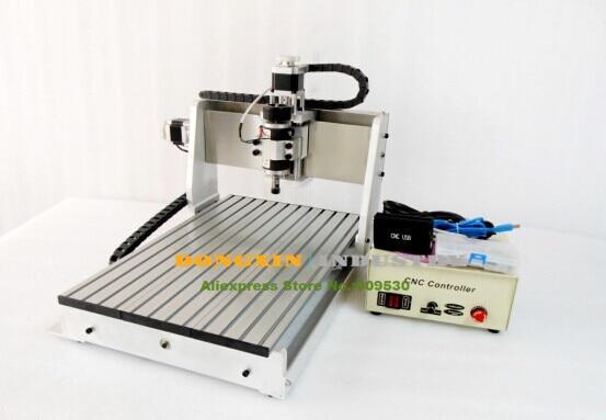شحن مجاني! جهاز التوجيه باستخدام الحاسب الآلي بمنفذ USB CNC3040 ، محرك المغزل 240 واط CNC 3040T ، آلة الحفر والطحن