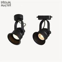 GU10 5W Led Track light Minimalist Ceiling Rail Tracking lighting Spot Rail Spotlights Replace Halogen Lamps AC 110V 220V 230V