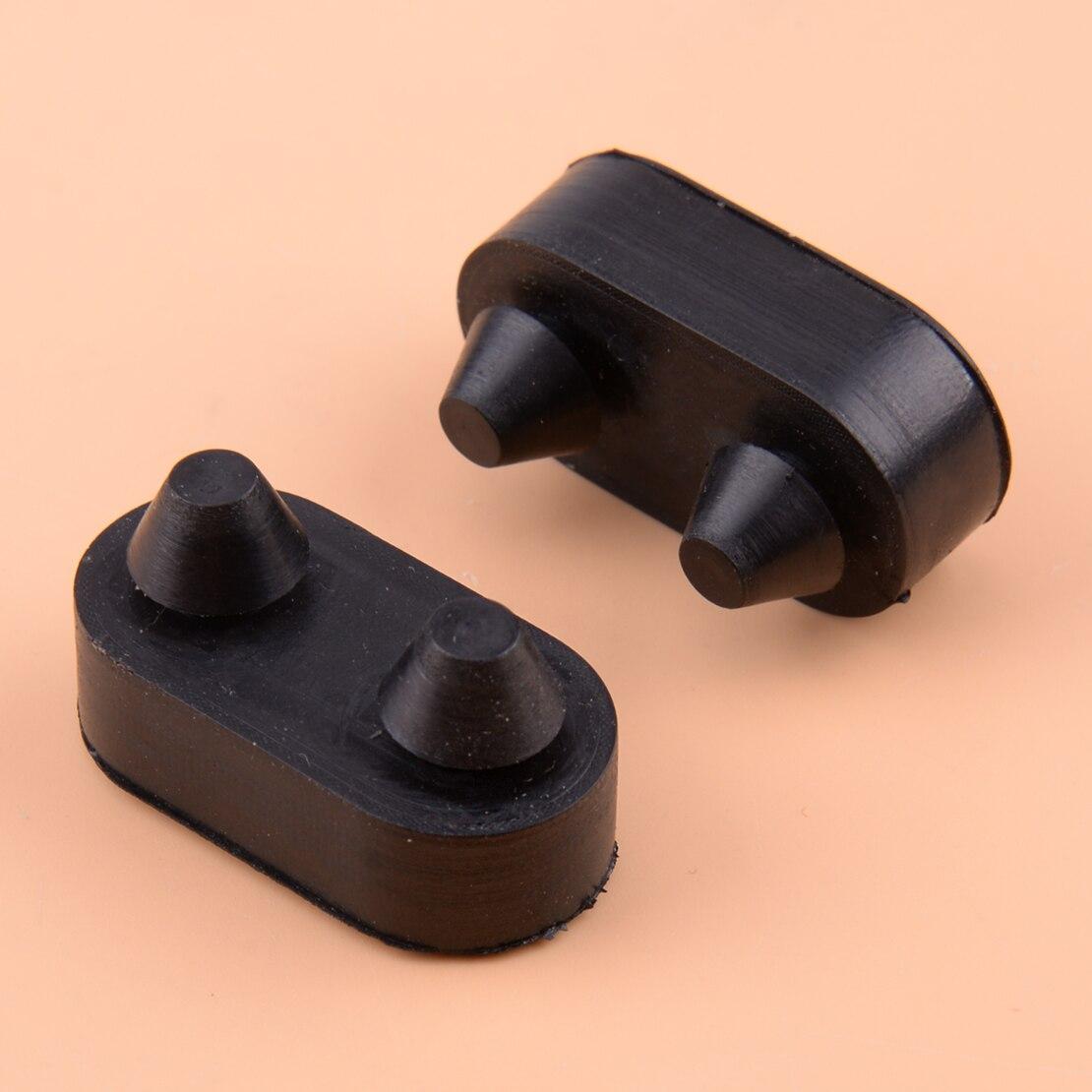 CITALL caucho negro 2 uds Hood cerradura cerraduras corchetes de captura apto para Jeep Wrangler TJ 1997-2003, 2004, 2005, 2006