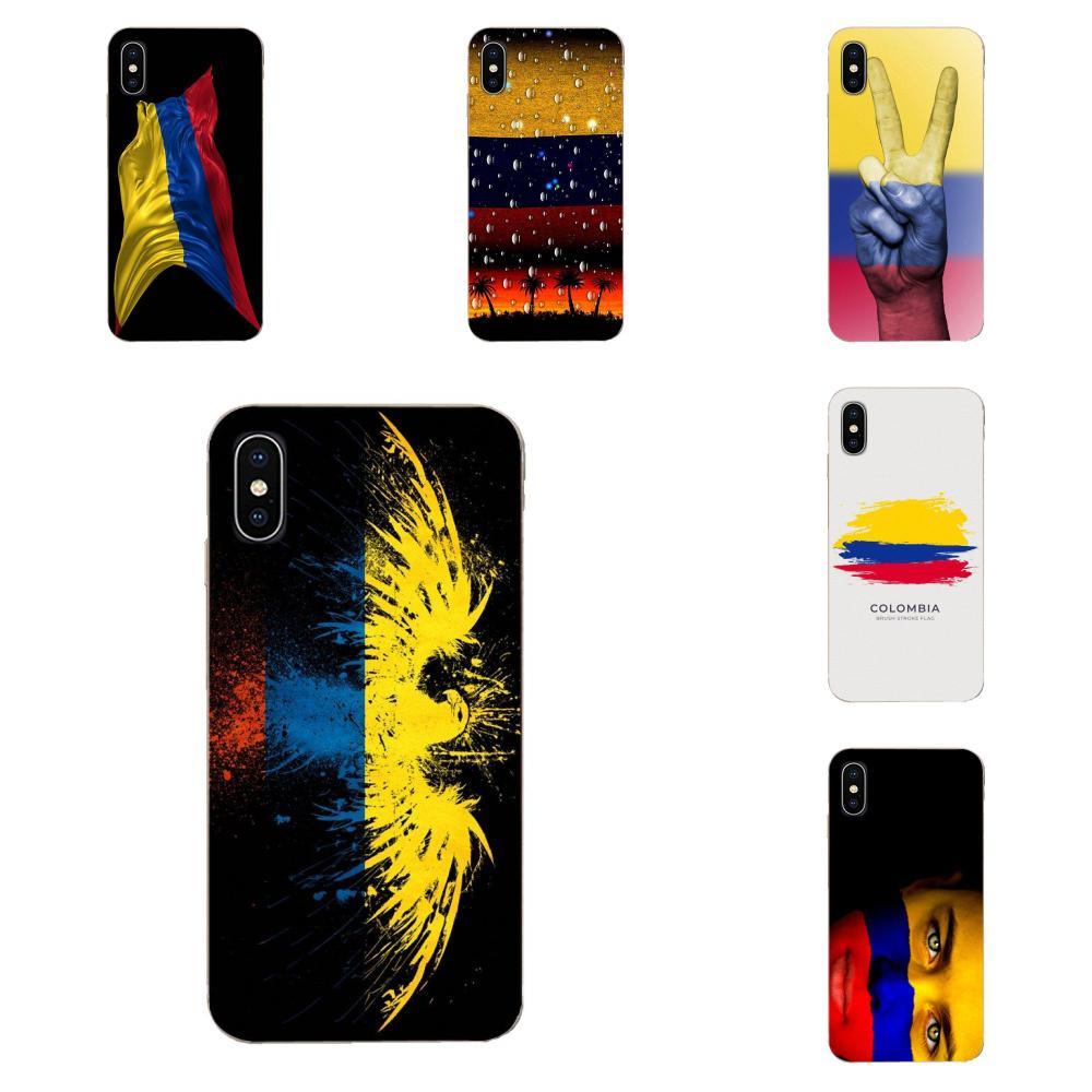 Bandera de Colombia para Huawei P7, P8, P9, P10, P20, P30 Lite Mini Plus Pro, Y9 Prime P Smart Z 2018, 2019, gran calidad