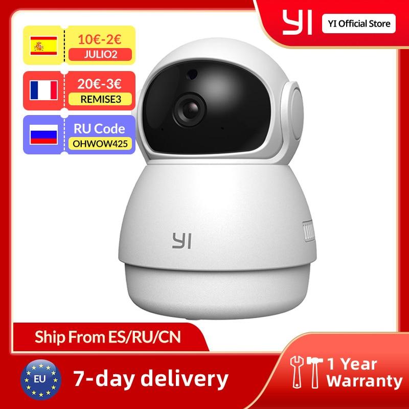 يي قبة الأمن كاميرا داخلية HD 1080p واي فاي كاميرا Ip نظام مراقبة بالفيديو الذكية كشف الحركة الإنسان والحيوانات الأليفة AI