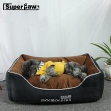 Lit coussin pour petits chiens moyens et grands   Lit pour chien et chat à la mode, tapis couverture pour chiot, maison danimaux, bouledogue, ZLB02
