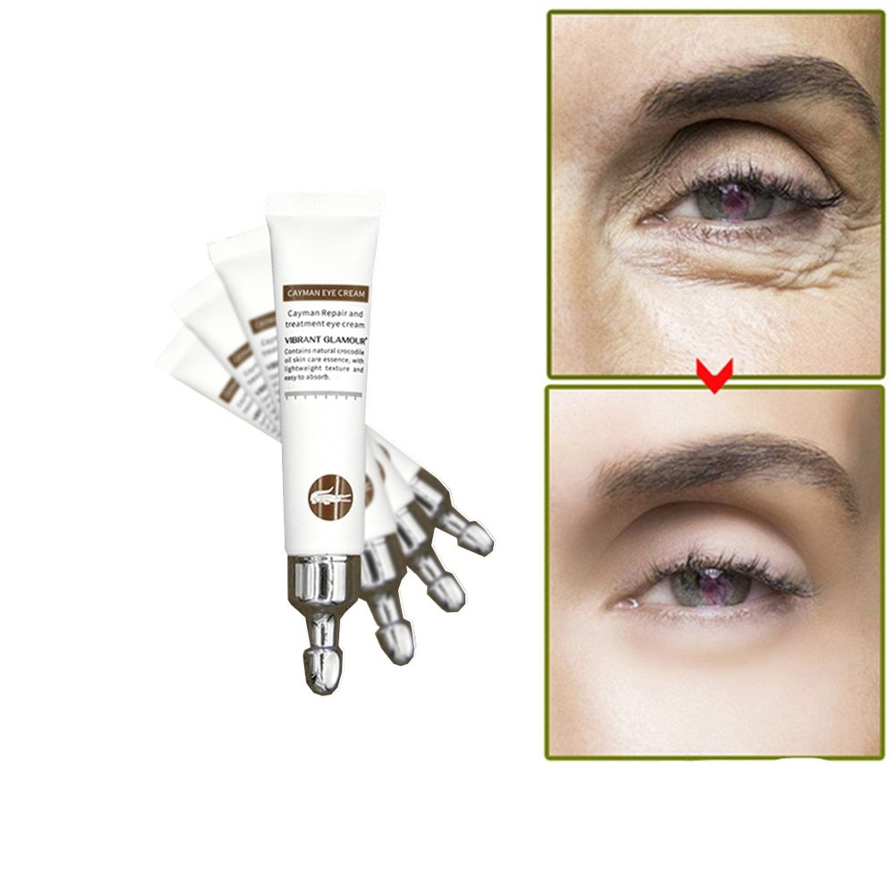 25 g/pçs cuidados com o rosto cristal pálpebra remendo colágeno olhos cremes remover olho saco círculos escuros edema hidratante endurecimento anti-rugas