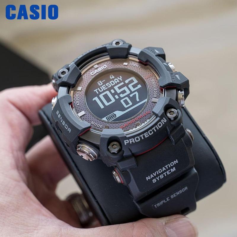 Casio Watch men G-SHOCK men watches Triple sensor Bluetooth GPS Radio Receiver Watch relogio masculino reloj mujerGPR-B1000-1