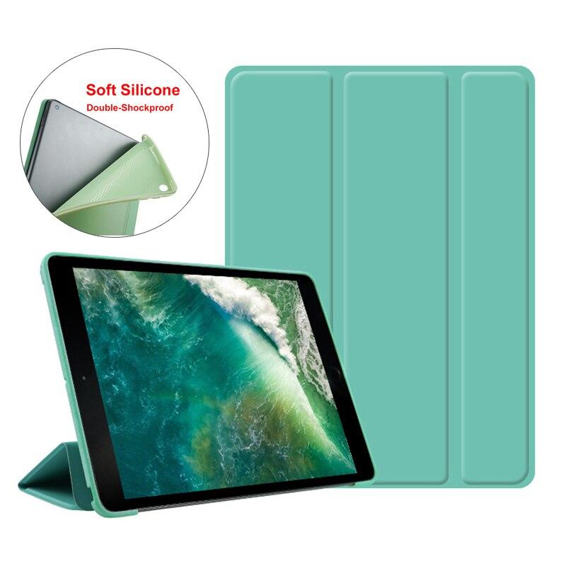 用 ipad mini 5 4 3 2 1 ソフトシリコンケースタブレットフリップカバースリーブ用 ipad mini 1 2 3 4 5 完全な保護 funda
