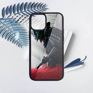 Image 3 - Японская Маска самурая oni чехол для телефона ПК для iPhone 11 12 pro XS MAX 8 7 6 6S Plus X 5S SE 2020 XR