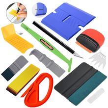 EHDIS винил инструменты для нанесения комплект воды Быстрая упаковочная резиновый скребок оконный скребок оттенок Стикеры наклейка для резки Ножи автомобиля инструменты