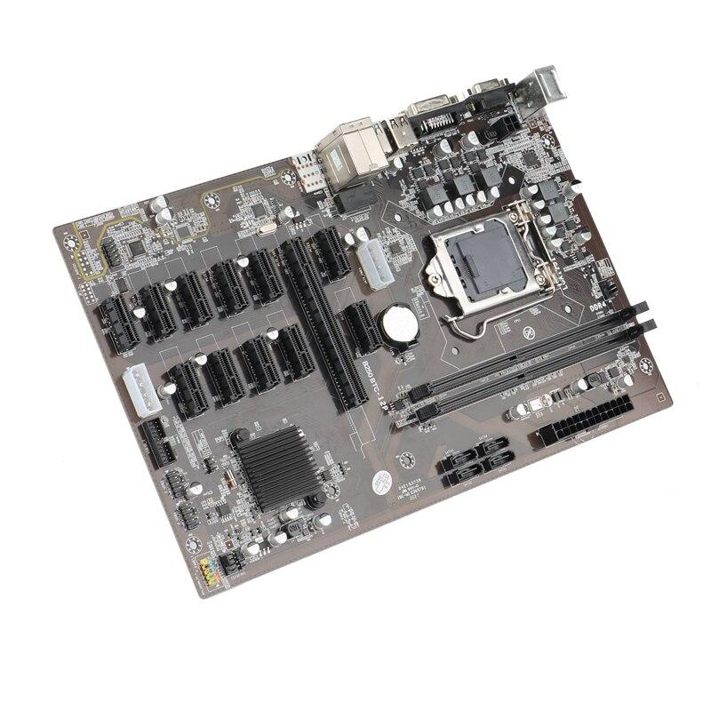 for Asus B250 MINING EXPERT 12 PCIE Mining Rig BTC ETH Mining Motherboard LGA1151 USB3.0 SATA3 for  B250 B250M DDR4
