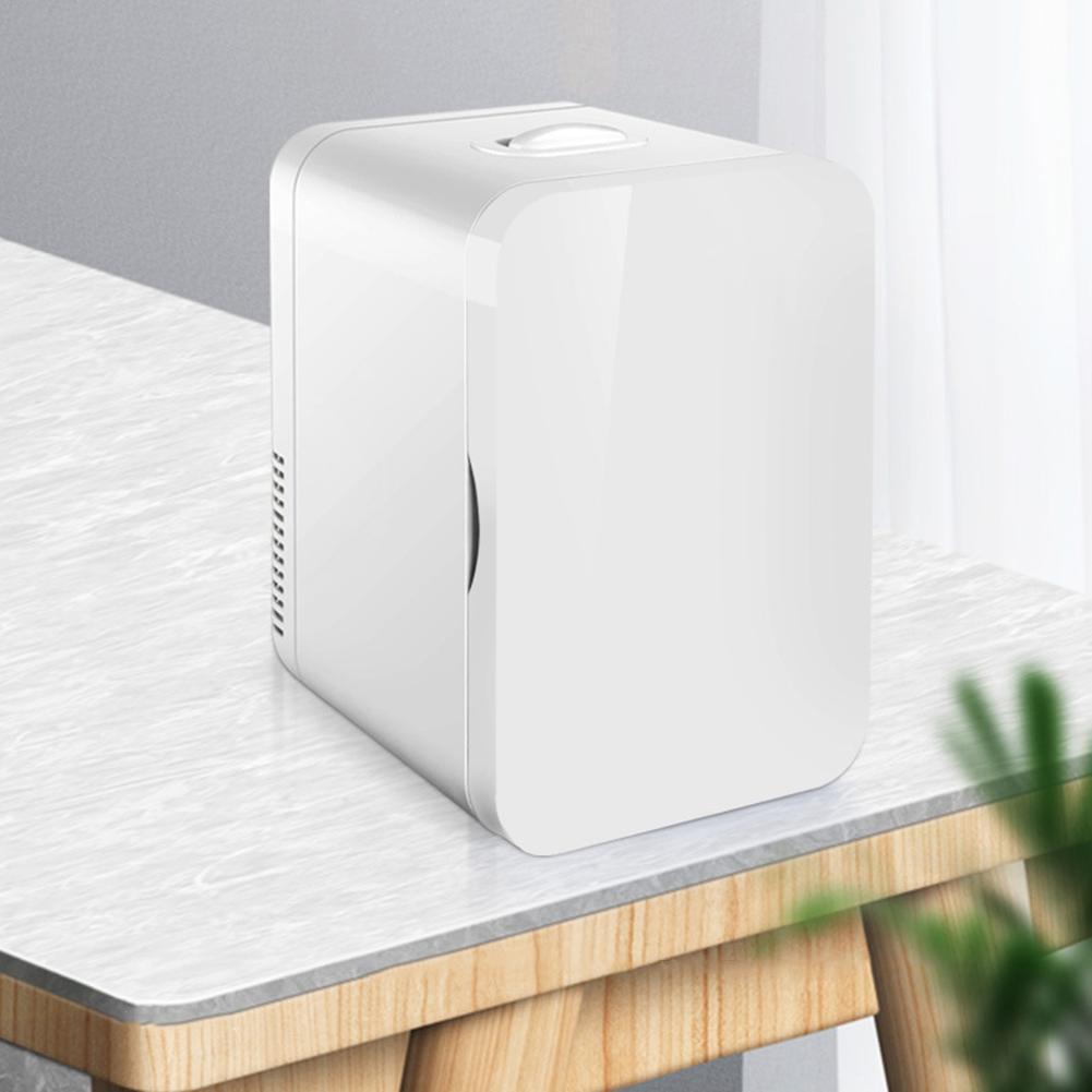 8L Large Capacity Car/Home Mini Refrigerator Freezer Fridge Car Dual Use Cooler Heater Universal Portable Vehicle Refrigerator
