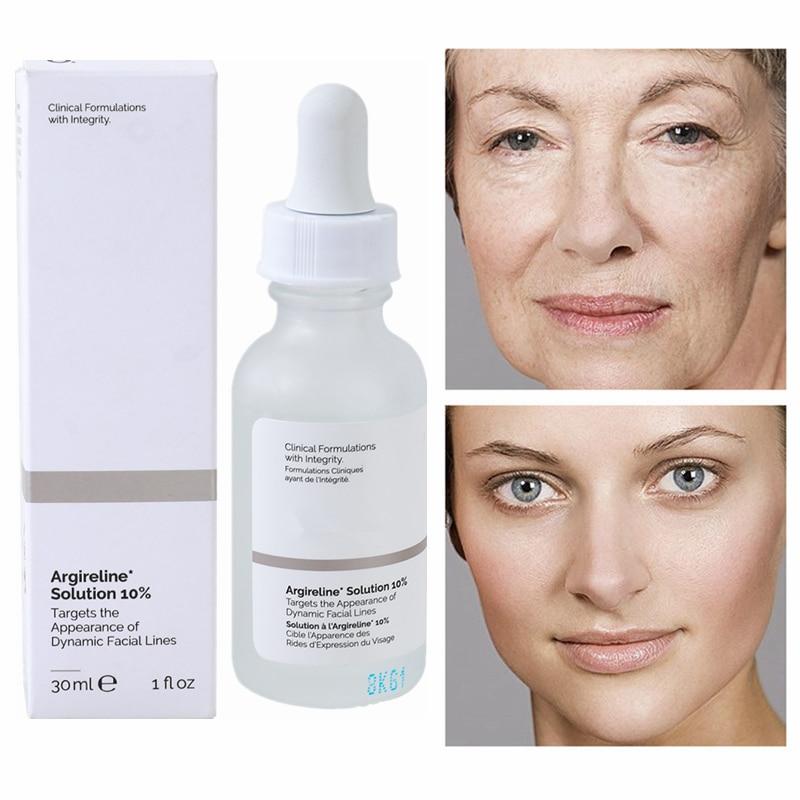 Face Repair Argireline*Solution 10% A Lightweight Hexapeptide Serum Peptide Complex Anti Aging Ordin