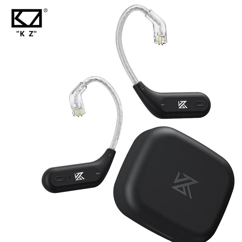KZ AZ09 HD سماعات بلوتوث كابل وحدة بلوتوث اللاسلكية ترقية كابل بلوتوث 5.2 اللاسلكية الأذن هوك مع شحن