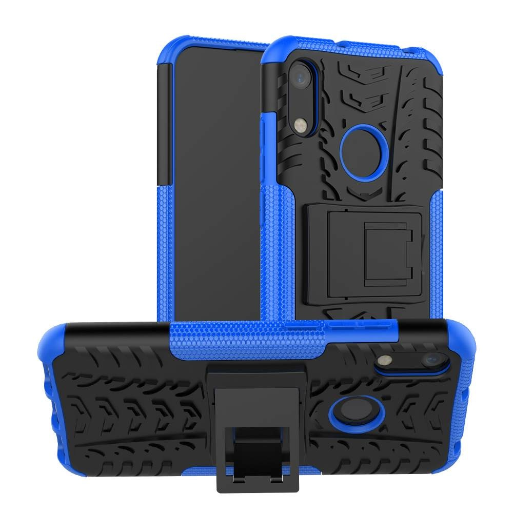 Para Huawei Honor 8A Play 9 8 7 6 5 A C X S Lite Max Holly 2 funda híbrida armadura dura PC plástico suave TPU silicona soporte teléfono funda