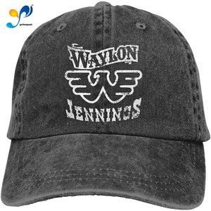 Waylon Jennings Casquette Cap Vintage Adjustable Unisex Baseball Hat