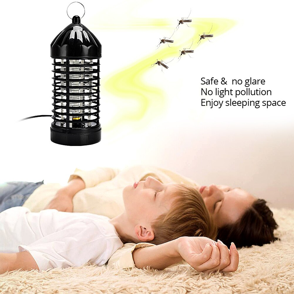 Trampa de mosca eléctrica plagas Dispositivo de Catcher atrapamoscas automático trampa matar plagas trampa antimosquitos EU/US plug