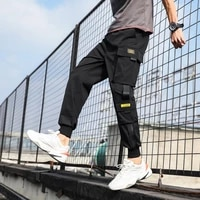 2020new mens casual pants in spring and summer loose harlan corset overalls youth fashion jogger street fashion sports trousers